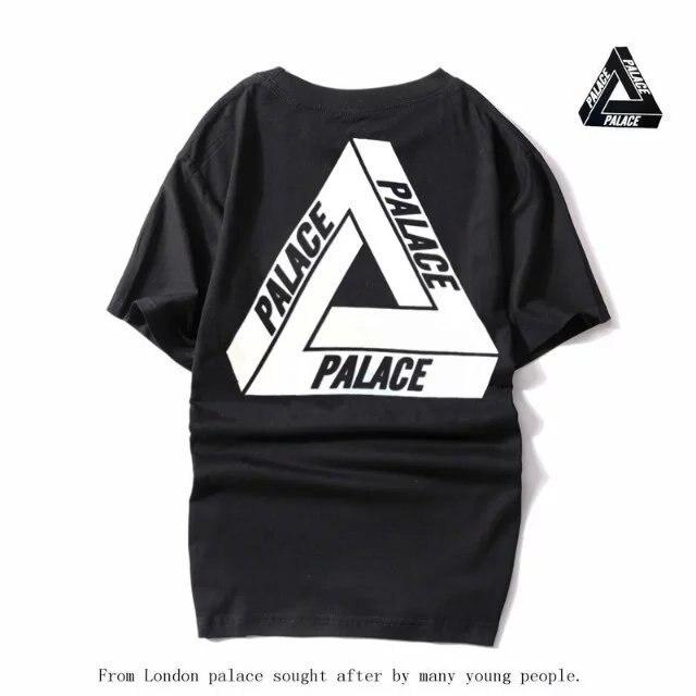 5c67415b3c64 Palace Skateboards Classic Tri-wild Flower Floral Triangle Triferg Mens Hip  Hop Summer Noah Clothing Gosha Rubchinskiy T Shirts