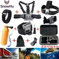 Gopro Accessories Chest Head Strap Monopod Floating Bobber Mount for Go pro Hero5 5S 4 3+2 xiaomi yi action camera sjcam GS06
