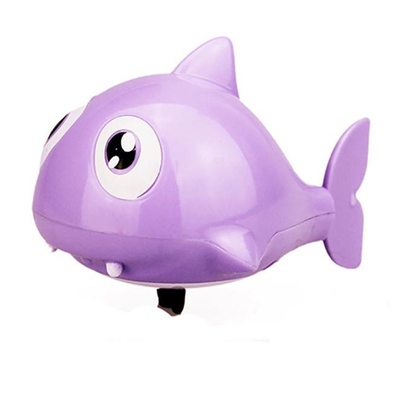 high quality giocattolo Kids Swimming Ugly fish Operated Pool Bath Cute Toy Wind-Up Kids Cognitive Floating Toy Free Shipping