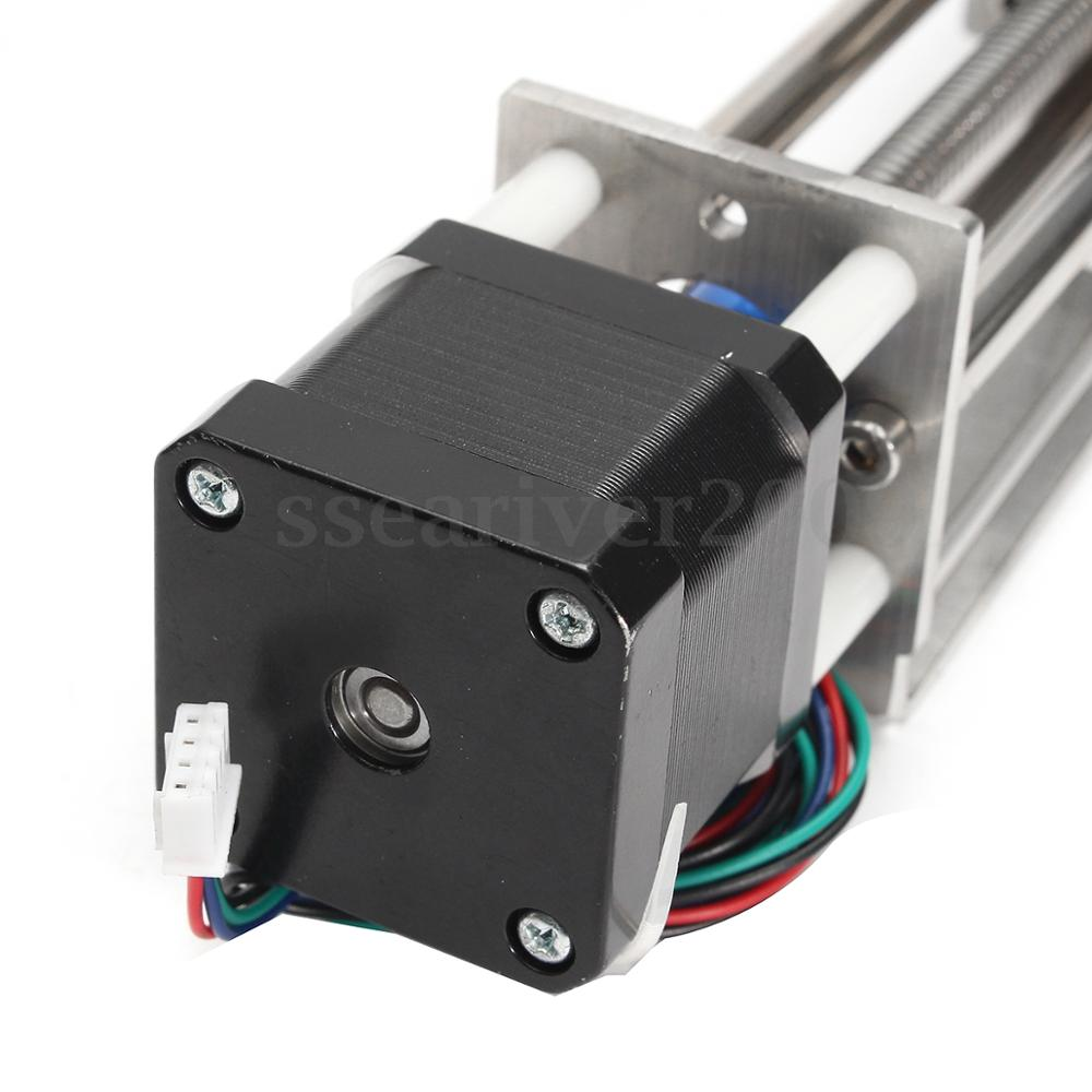Image 5 - 50mm/150mm Slide Stroke CNC Z Axis slide Linear Motion +NEMA17 Stepper Motor For Reprap Engraving Machine-in 3D Printer Parts & Accessories from Computer & Office