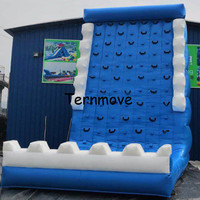 Sports Equipment Inflatable Climbing Mountain Indoor Rock Climbing Wall Bouncy Climbing Walls Inflatable Mountain Sport Arena