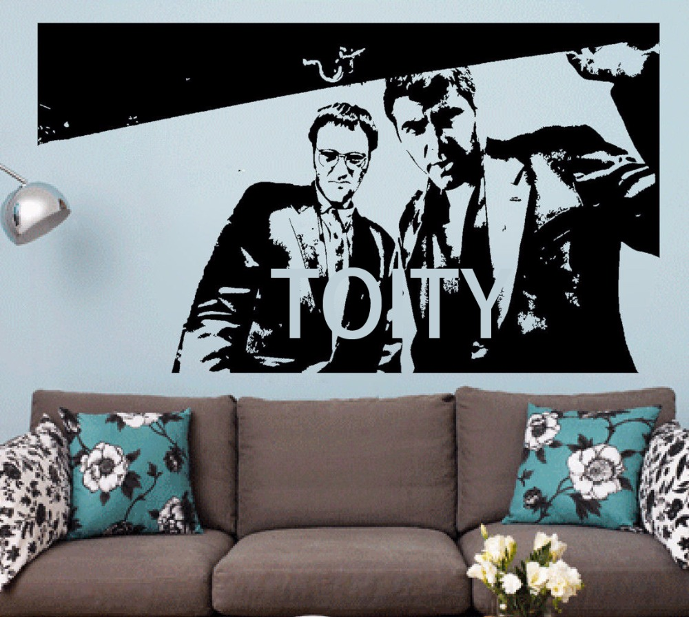 From Dusk Till Dawn Wall Sticker Horror Thriller Film Vinyl Decal Dorm Teen Room Home Interior Art Decor Quentin Tarantino Mural