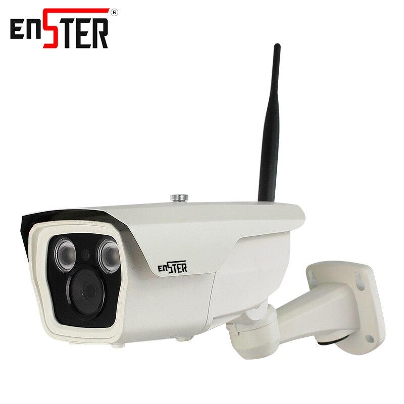 Здесь можно купить   Enster 720P 1080P Bullet ip camera wi-fi wireless security IP camera outdoor waterproof surveillance camera ip video 2.0 MP Строительство и Недвижимость