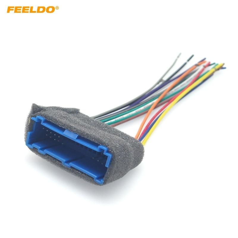 cadillac radio wiring harness feeldo car radio audio stereo amplifier interface wire harness for  feeldo car radio audio stereo amplifier