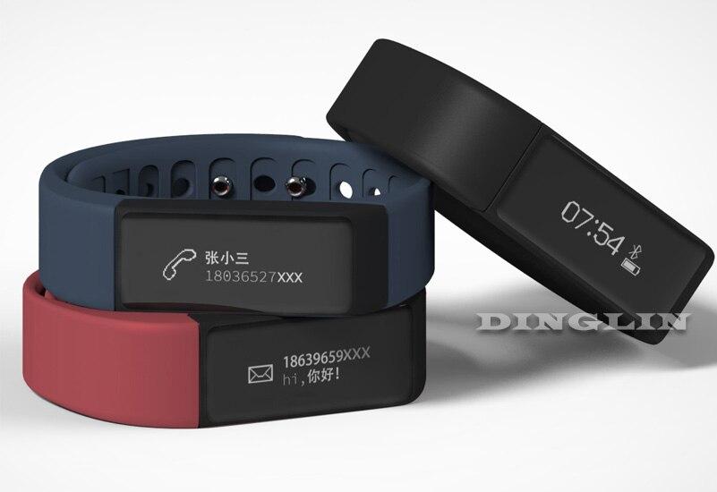 GZDL I5 Plus Smart Bracelet Bluetooth Waterproof Touch Screen Fitness Tracker Health Wristband Sleep Monitor Smart