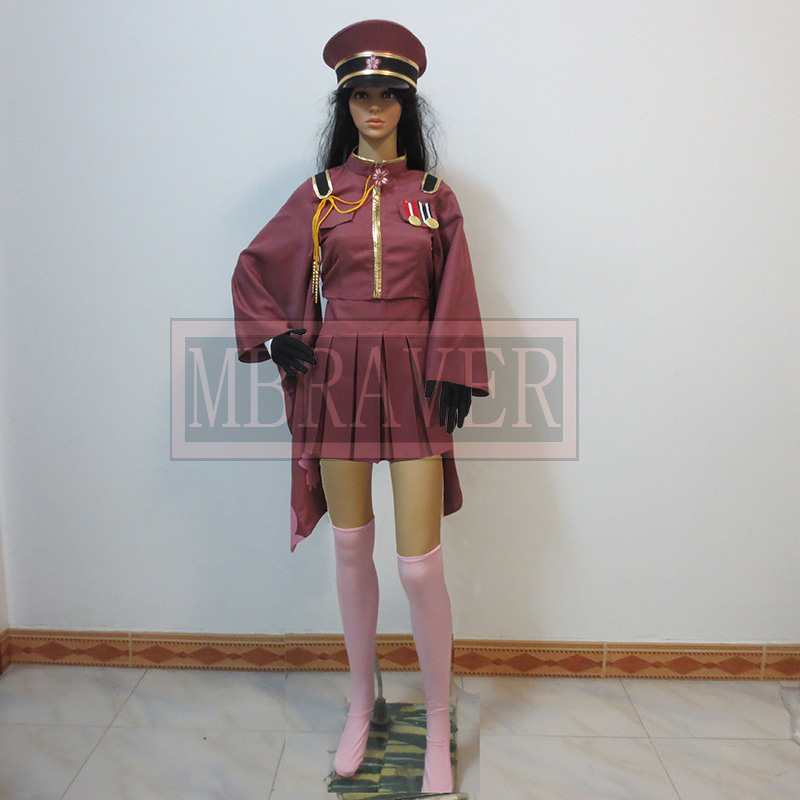 Senbonzakura Vocaloid Hatsune Miku Cosplay Costume Cosplay Army Uniform Any Size