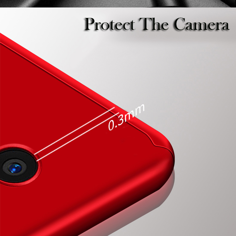 GXE 360 Degree protection Shockproof Cover Cases for VIVO X Play6 Case Matte Hard plastic Full Body phone Cover Bag For X Play 6
