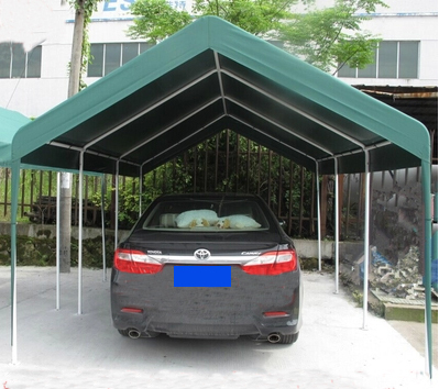Outdoor Mobile Garage Retractable Awning Canopy Crank Parasol Sunshade