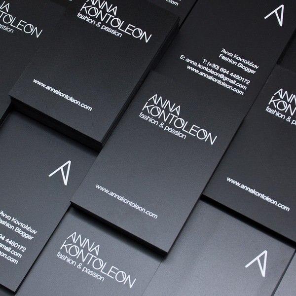 2016 Frais Style Personnalisee Cartes De Visite Design Vertical Carte Haute Qualite 600gsm Noir