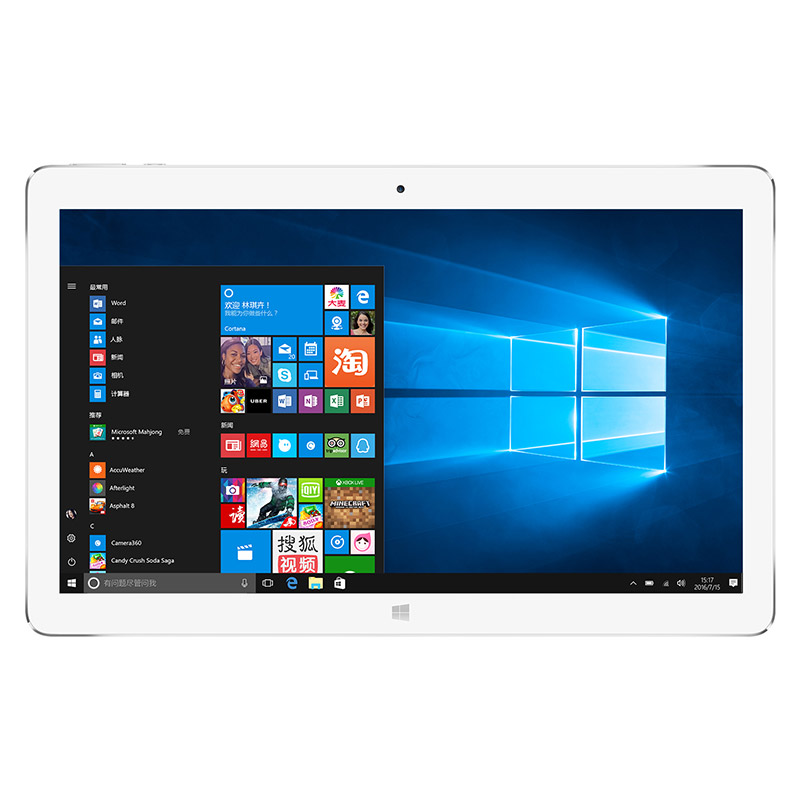 Teclast Tbook 16 Pro 11.6 pouce Tbook16 proWindows 10 + Android 5.1 Intel Z8300 Tbook16pro 4 GB RAM 64 GB ROM IPS écran