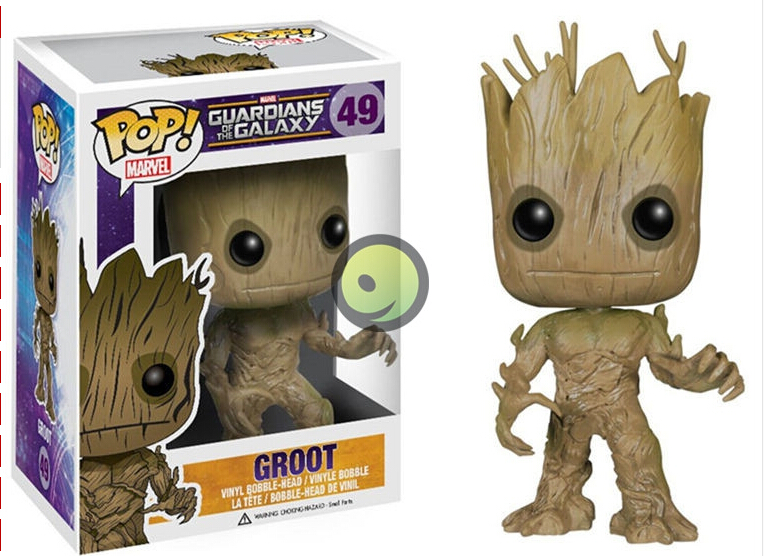 hot sale  Toys 10CM Funko PoP Groot Toy Guardians Of The Galaxy Vinyl Groot Toys for children Christmas birthday gift wholesale new funko pop guardians of the galaxy tree people groot