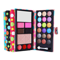 4 colors Small Makeup Eyeshadow Palette 18 colors Fashion Eye Shadow Make Up Shadows With Case Cosmetics For Women 25613