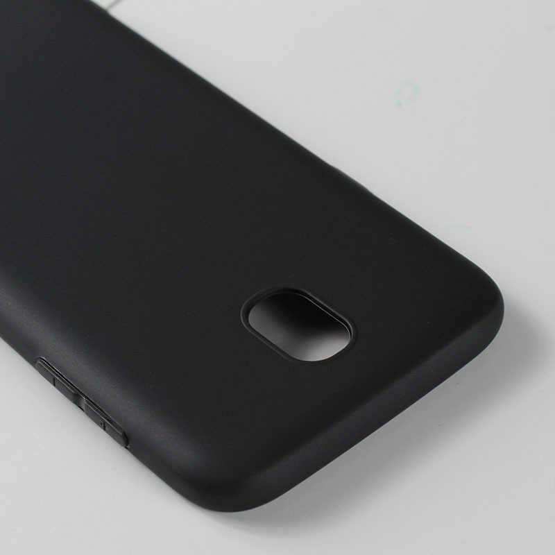 Preto tpu caso de telefone para samsung galaxy s9 s8 s7 s6 plus borda a8 plus j2 pro 2018 a3 a5 a7 j3 j5 j7 2016 2017 capa macia escudo