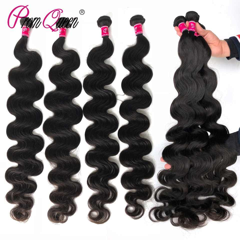 34 36 Inch 38 inch 40 inch Brazilian Virgin Hair Body Wave Human Hair Bundles 10A Grade Brazilian Hair Weave Bundles 1/3/4P/Lot
