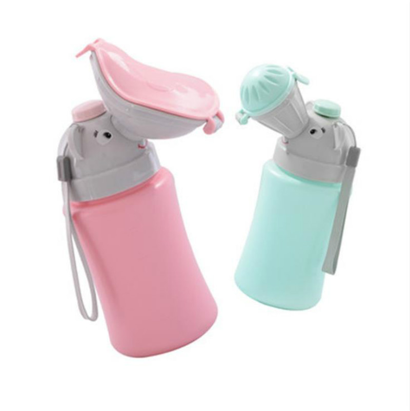 Portable Convenient Travel Cute Baby Urinal Kids Potty Girl Boy Car Vehicular Urinal Travel Anti-leakage  Hygiene Toilet Urinals