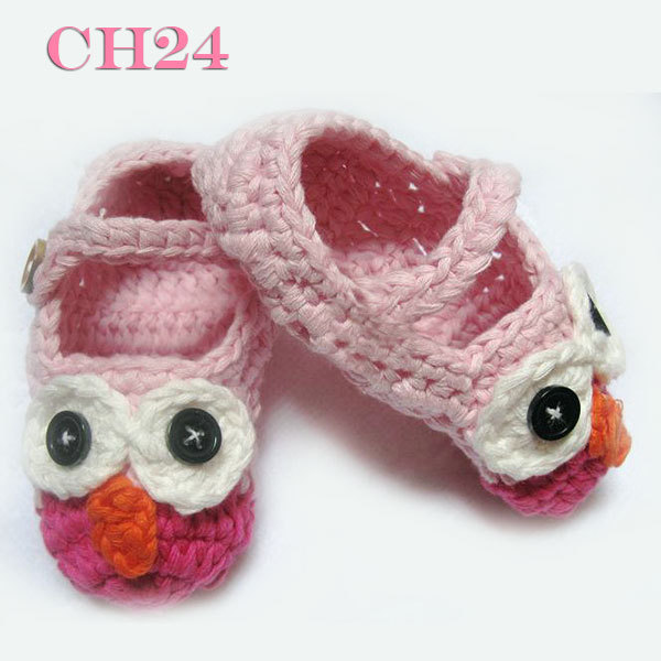 Hot Mary Janes Slippers Baby Girl Crochet Shoes Crochet Cotton