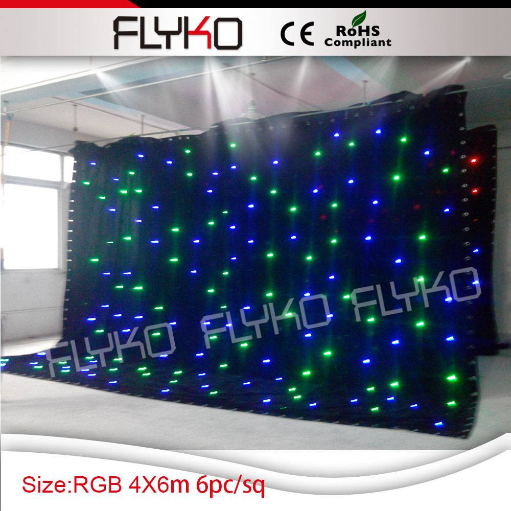 led star curtain 2