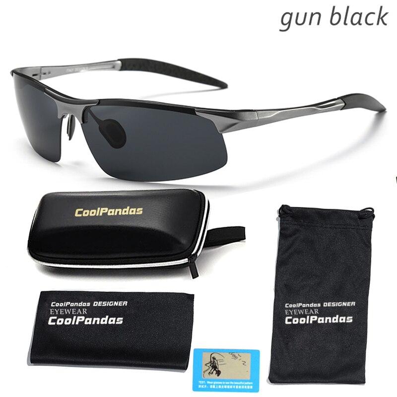 Acheter 2018 Aluminium Et De Magnésium Hommes lunettes de Soleil Polarisées  Aviation HD Conduite Lunettes de ... 4265170bfe53