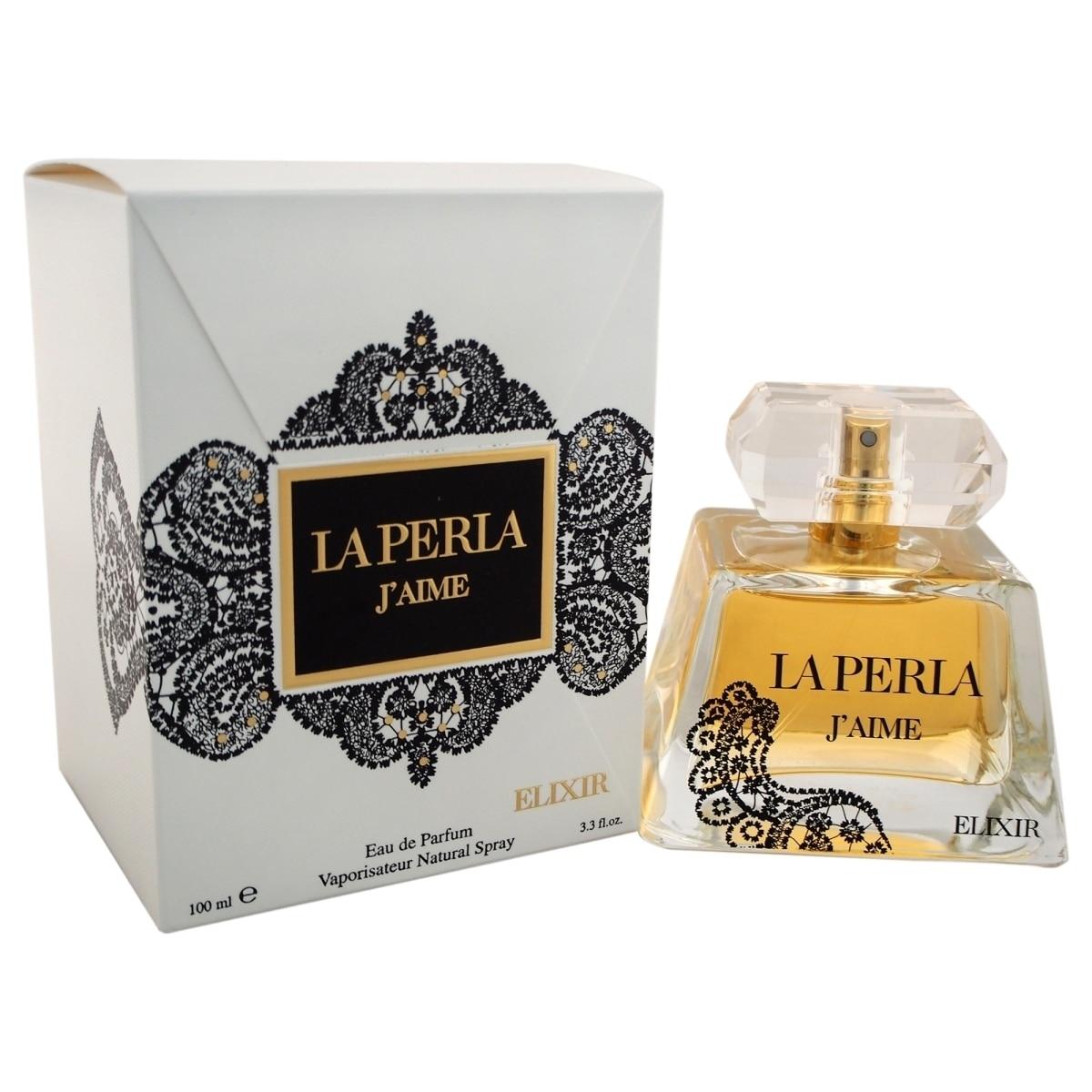 La Perla W-8351 3.3 oz Jaime Elixir EDP Spray for Women davidoff echo w edp 30