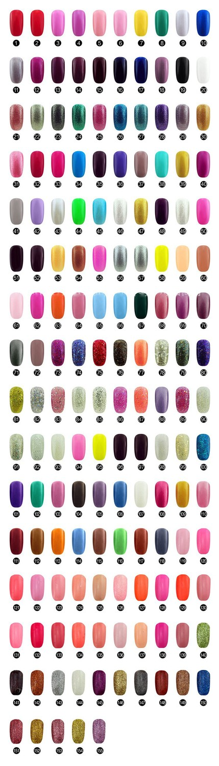 EM-125 Gratis verzending gel polish set, 36W UV-lamp set, UV-gel - Nagel kunst - Foto 2