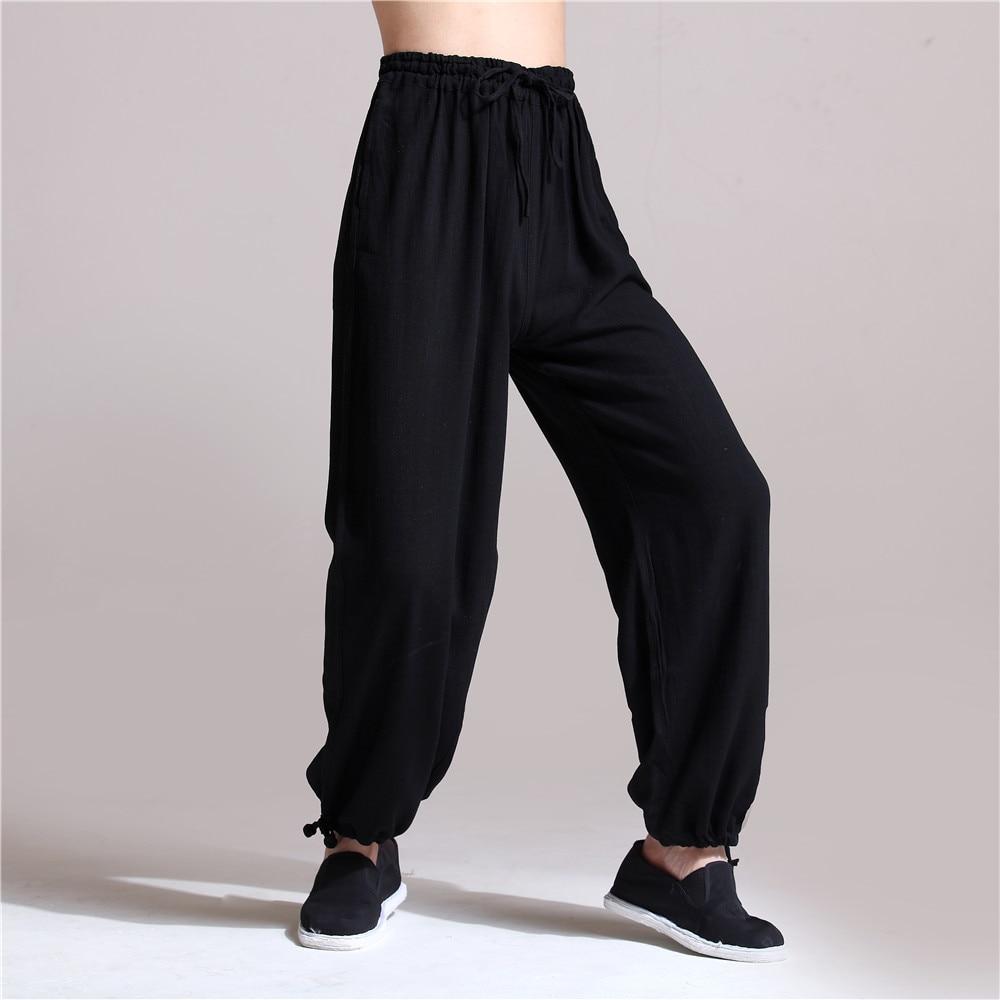 Aliexpress Com Buy Hisenky Chinese Kung Fu Pants Men S