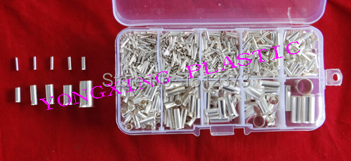 1236 piece/lot naked insulated tube terminal from 22-4AWG wire ferrules 1000pcs lot en0206 naked insulated tube terminal block cord end terminal wire ferrules