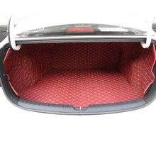 lsrtw2017 fiber leather car trunk mat for kia rio 2017 2018 2019 2020 k2 lsrtw2017 durable waterproof leather car trunk mat gloor mat for kia kx cross