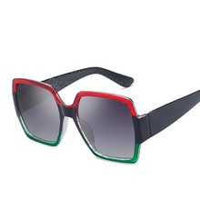 2019 Classic Black Retro Big Frame Sunglasses Women Gray lens Sun Glasses for Unisex Sunglasses lentes de sol mujer glasses UV40 цена