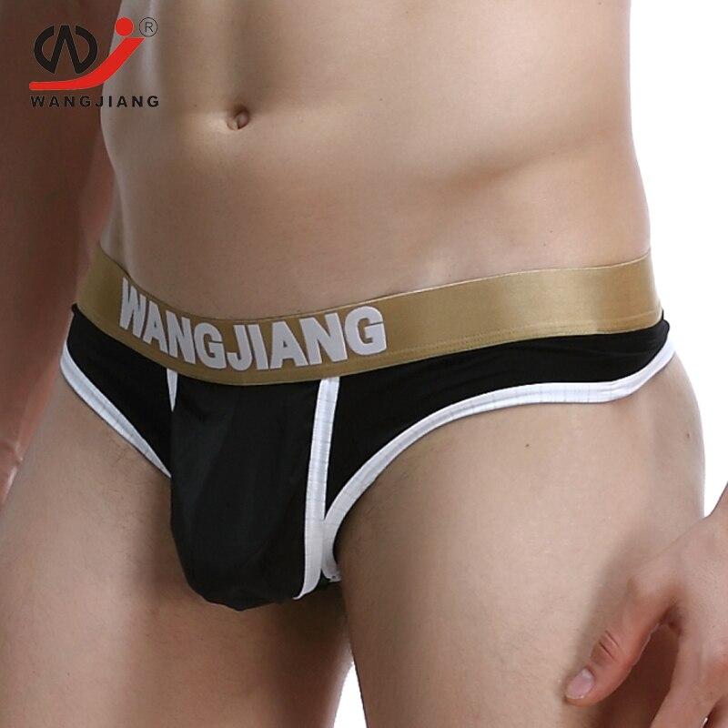 e7692f1dc Tangas y Tanga para hombres WJ suspensorio ropa interior para hombres Gay  cuerda Homme Tanga Hombre Ropa interior Sexy hombres Nylon Hot Homens