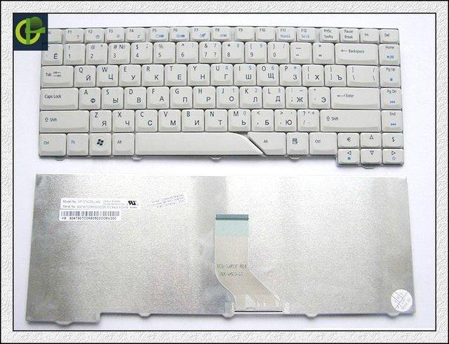 Teclado russa para acer aspire 5715 5715z 5720g 5720z 5720zg 5910g 5920z 5920zg 5920g 5930g 5950g cinza ru teclado do laptop