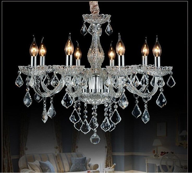 Image 4 - ثريا حديثة بإضاءة من الكريستال ، ثريا حديثة بإضاءة كريستالية ، ثريا داخلية للمنزل ، ثريا لامعةlustres de cristalmodern crystal chandeliercrystal chandelier lighting -