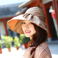 Wishining New Adjustable sun hats Anti-UV Protection Hat for women