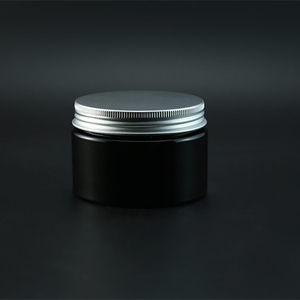 Image 3 - משלוח חינם שחור 120g פלסטיק קרם בקבוק למילוי קוסמטי גוף קרם צנצנת ריקה מסכת אבקת מיכל אריזת חמאה