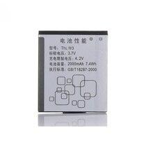 MATCHEASY New Hot Original Battery 2000mah 3.7V Li-ion Mobile Phone For THL W3 Batterie Batterij Bateria