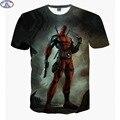 Mr.1991 mais novo chegar América Deadpool 3D Dos Desenhos Animados Anime bandidos impresso t-shirt meninos crianças grandes adolescentes t topos camisa das crianças A12