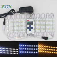 ZGX SMD LED Module 5730 5630 20PCS Channel Letter Cosmetic Mirror Car Atmosphere Decor Light Lamp