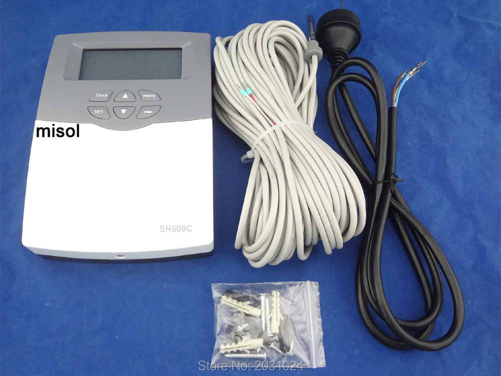 CONTROLLER of SOLAR WATER HEATER, 1 sensor, 110V, solar controller bride of the water god v 3