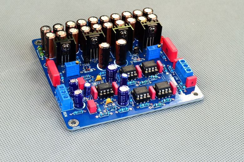 цены Assembled Upgraded N5 Preamplifier Board HIFI AMP Board With 2134 Opa