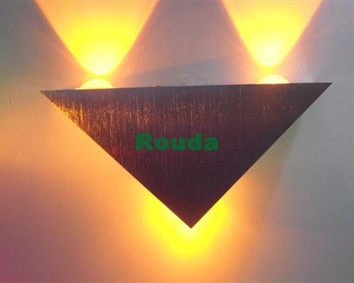 led wall lamp 3w Background living room lights, bedroom bedside lamp, stair aisle lights KTV decorative lights
