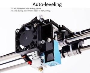 Image 3 - Flsun impresora 3D de gran precisión, Kit de impresora 3D de gran tamaño, 260x260x350mm, cama caliente, tarjeta Sd de filamento de un rollo