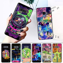 Phone for Samsung Galaxy S8 S9 S10 S10e Plus M20 M30 M40 S6 S6edge S7 S7edge S9+S10+ Silicone Soft Case Family Love Rick And
