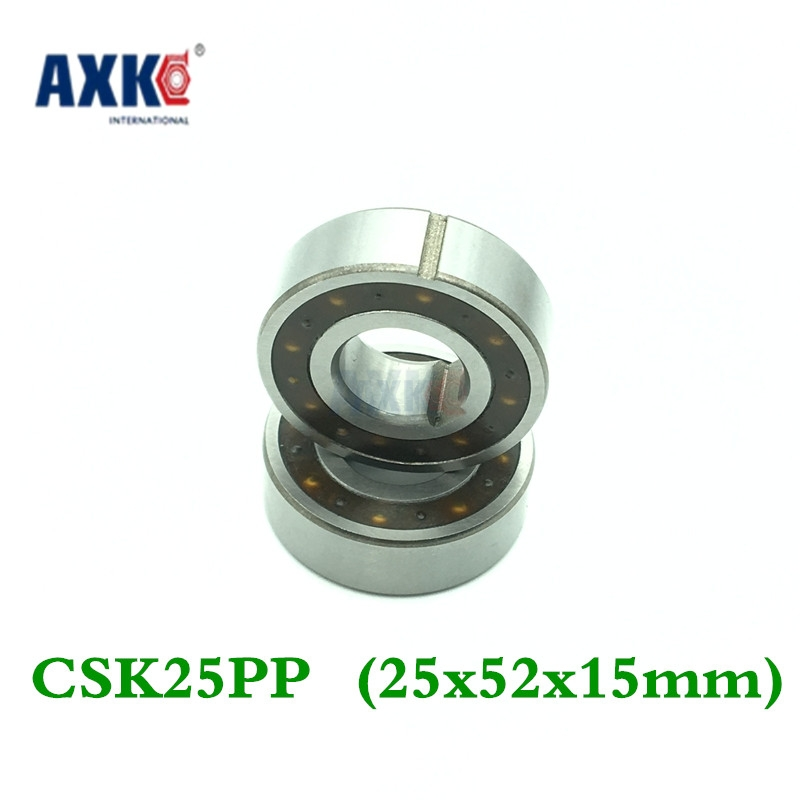 Axk Csk25pp One Way Clutches Sprag Type (25x52x15mm) One Way Bearings Bearing Supported Freewheel Clutch With Double Keyway