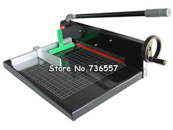 Free ship by FedEx UPS EMS 1PC Heavy Duty All Metal Ream Guillotine 12 A4 Size Stack Paper Cutter Paper Cutting Machine