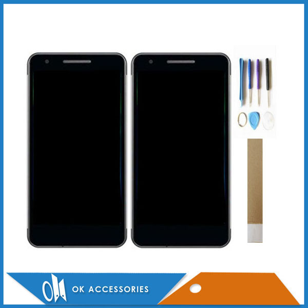 5.0 Inch For Philips Xenium X588 LCD Display+Touch Screen Digitizer High Quality Black Color With Tools Tape5.0 Inch For Philips Xenium X588 LCD Display+Touch Screen Digitizer High Quality Black Color With Tools Tape
