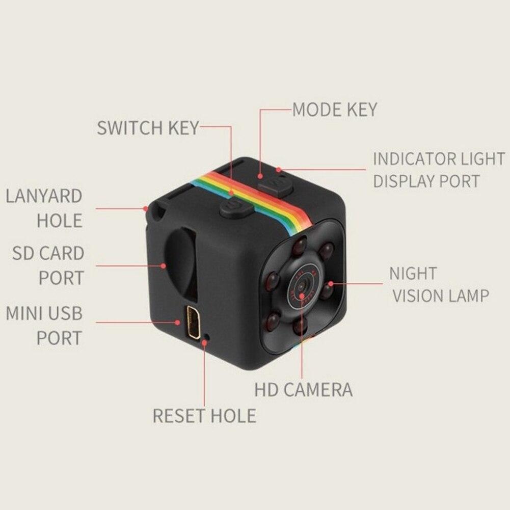 Original Mini Car DVR Camera Full HD 1080P 140 Degree Night Vision G-Sensor Motion Detection Cycle Recording DVRS High Quality 12