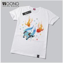 Envío gratis nueva vocaloid hatsune miku t shirt anime hombres mujeres camiseta animación cosplay hombres tee shirts tops clothing