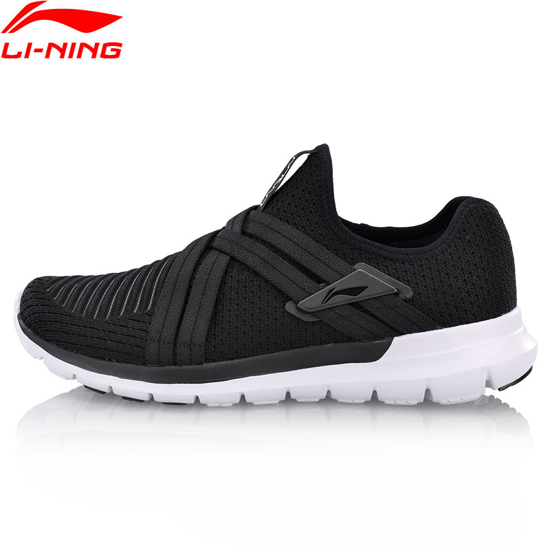 Li Ning Men FLEX RUN V2 Running Shoes Flexible Light Weight LiNing Comfort Sport Shoes Cushion
