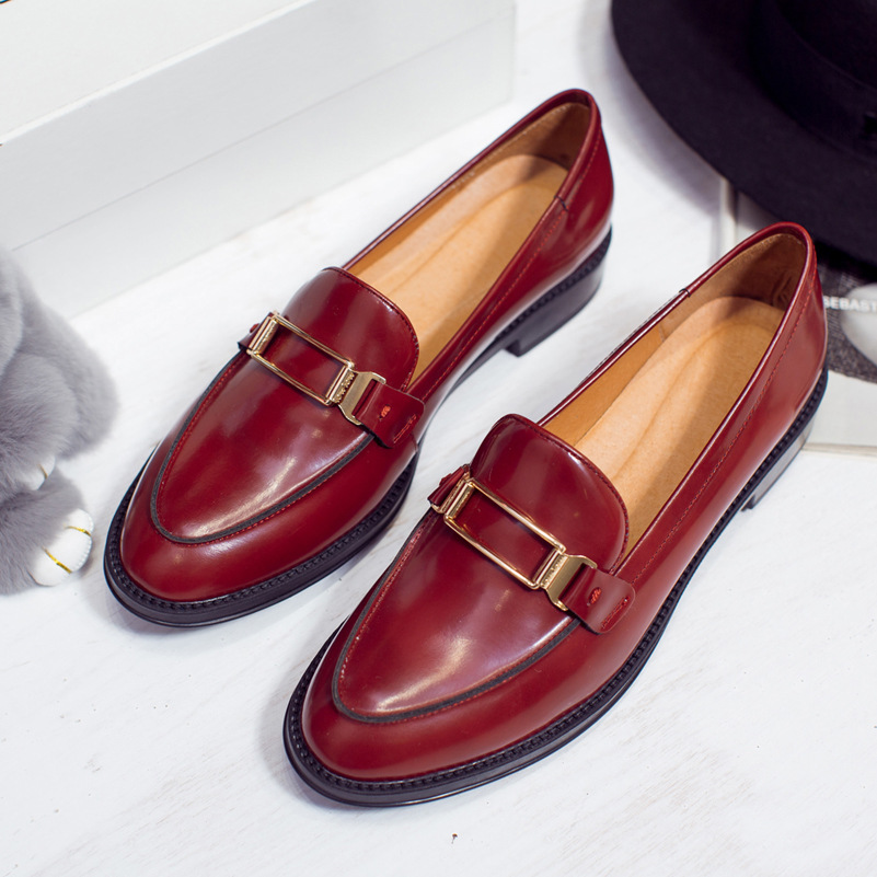 Top Qualité Appartements Chaussures Femmes Véritable Slip En