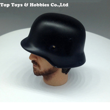 1/6 Scale Metal Helmet WWII German Army M35 Cap Model 1:6 Action Figure Accessories for 12 inches male soldier