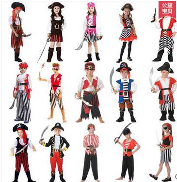 Hot Fantasia Costumes Girls New Arrive Halloween Christmas pirate costumes girls party cosplay costume for children kids clothes